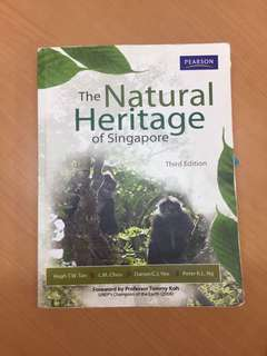 Natural Heritage of Singapore, GES1021