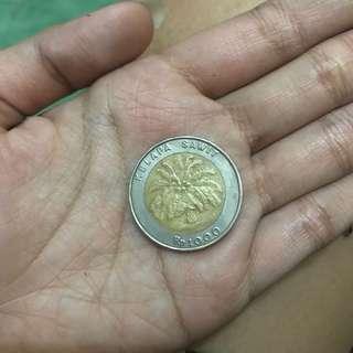 Uang Koin 1000 kelapa sawit yg HITS