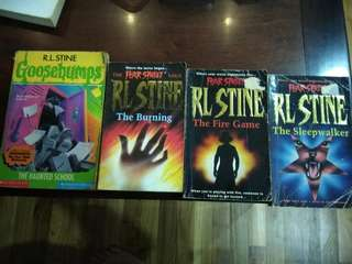 RL Stine Books