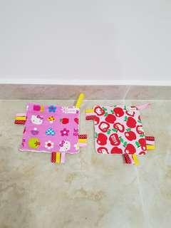 PL Baby mini toy blankie taggies