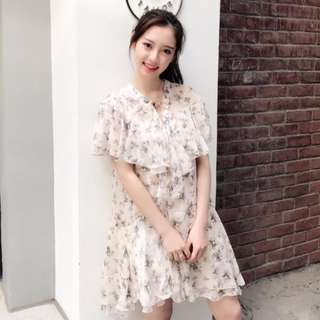 <READY STOCK > Floral Lace Dress