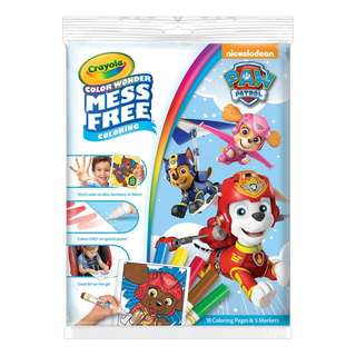 {Brand New] Crayola Paw Patrol Color Wonder Coloring Pad and Markers, Mess Free Colouring
