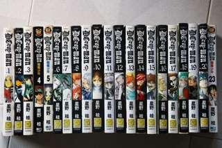 D.Gray-Man Chinese manga set