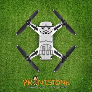DJI Spark Decal Sticker/Skin Sticker - Star Wars Storm Trooper