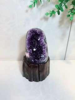 乌拉圭纯天然原石紫晶洞