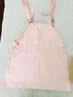 Jumper Skirt Pastel Pink -Once used