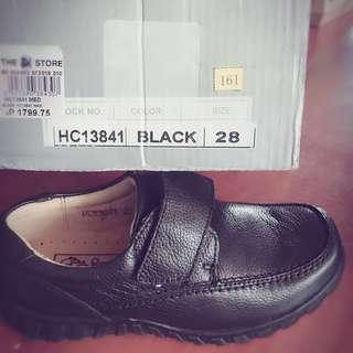 Gibi kids school black shoes size 28