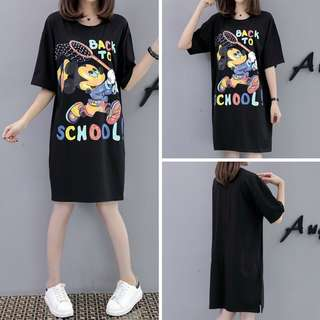 Mickey Mouse Back to School Tshirt Dress