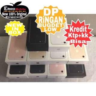 Kredit Dp 3jt IPhone 7 Apple 128GB New Original Ditoko ktp+kk bisa Wa;081905288895