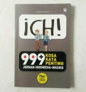 Ich! 999 Kosakata Penting Jerman-Indonesia-Inggris