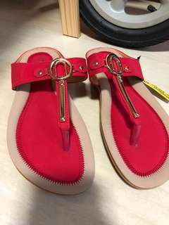 BNWT  Red Sandals