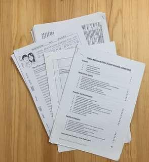 A levels h1 General paper reading materials