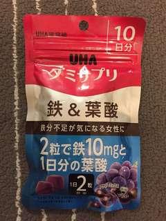UNA 鐵質 & 葉酸提子糖