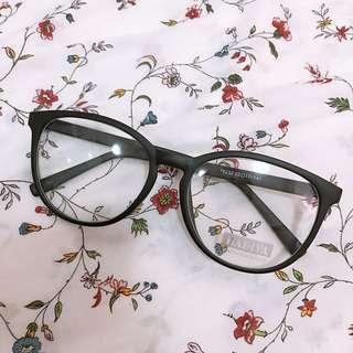 Matte Black Spectacle Frame