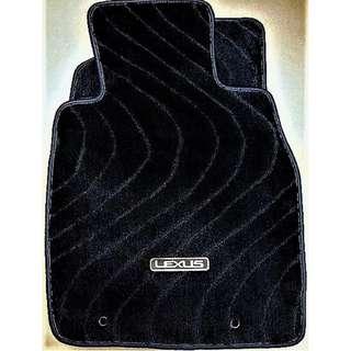 Lexus ES300 (MCV30) car mats.