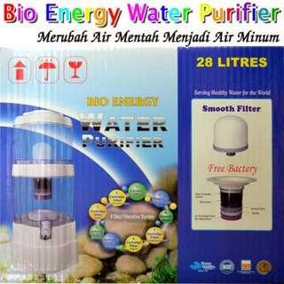 Mineral pot 28 Liter bio energi - alat penyaringan air