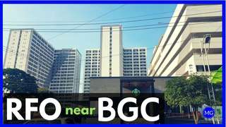 RFO Ready 19k Monthly No Down Payment Taguig Condo 5mins away from BGC.