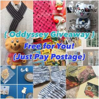 { Oddyssey Giveaway } #Blessing