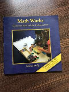 Pre-loved lightly used math works Montessori