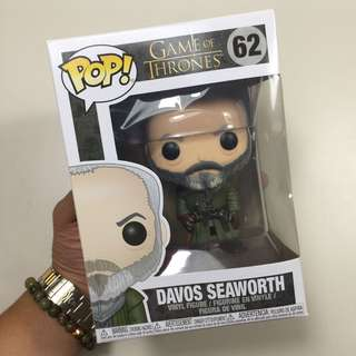Game of Thrones - Davos Seaworth Funko Pop