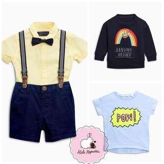 KIDS/ BABY - shirt/ short/ Crew/ Tshirt/ set