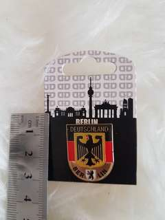 Pin badges of Berlin, Germany