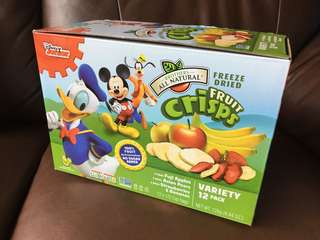 [NEW] 全新迪士尼凍乾水果片 Disney Freeze Dried Fruit Crisps