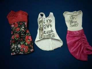 Barbie Cloth Lot