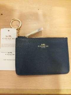 Coach coin & key bag