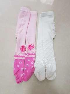 🚚 女童褲襪兩件組