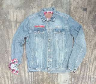 Nylauss Trucker Jacket size L