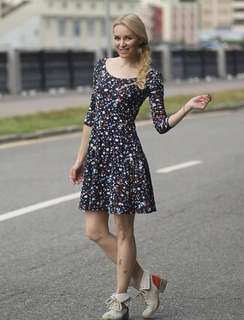 Terranova black scoop dress