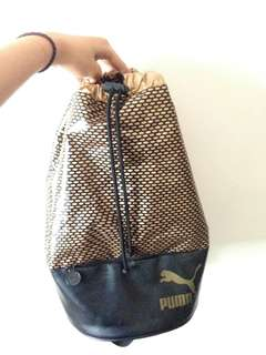 PUMA GOLD BACKPACK (FOR GYM OR FOR SPORTS)