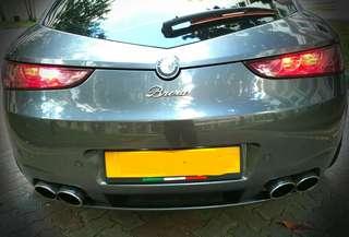 Novitec Quad Sports Exhausts - Alfa Romeo Brera / Spider