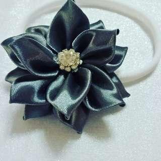 Anggun handmade kanzashi flowers infant headband