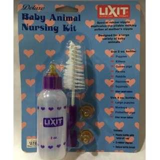 Lixit 2oz Kitten / Puppy Nursing Bottle Kit