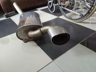 汽车排气管