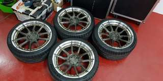 2Piece BC Forge Rims with tyres !