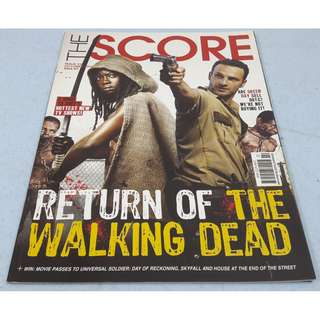 The Score October 2012 The Walking Dead