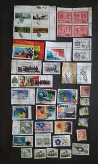 Nice Selection & Mix Collection Of Canada - 39v Mint & Used Stamps