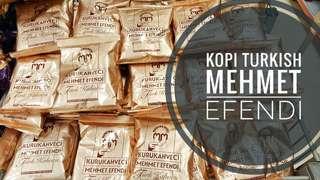Kopi Turki mehmet efendi original from Turki