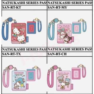🇯🇵日本預購 - 原裝日版 SANRIO CHARACTERS 可伸縮咭套系列 - Hello Kitty 凱蒂貓 / My Melody 美樂蒂 / Cheery Chums / TuxedoSam 企鵝