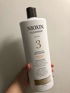 Nioxin Shampoo no.3 for fine hair