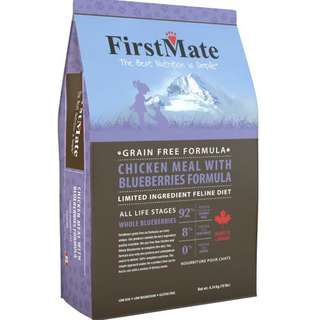 First Mate Chicken and Blueberry Formula 10lb