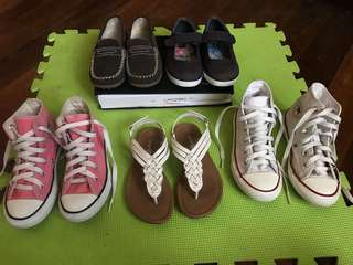 Assorted Girl's Shoes