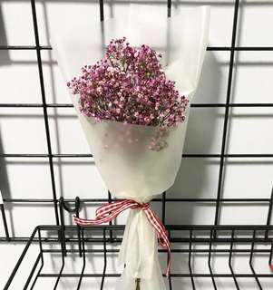 Dried Baby Breath Mini Bouquet