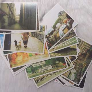 BNIB Paris Post Card Set