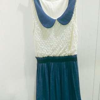 🚚 百摺氣質洋裝