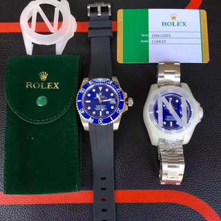 Rolex Submariner With Rubber B ✅1:1 Grade  ‼️Only Rm750‼️