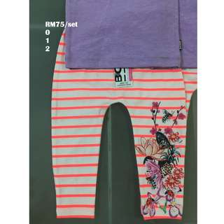 Bonds Chesty & Legging Set Size 0 1 2